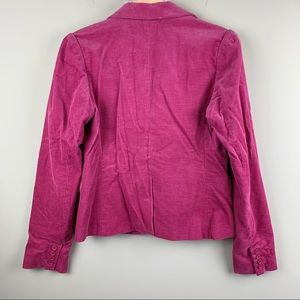 Juicy Couture Jackets & Coats - Juicy Couture pink corduroy blazer - EUC!
